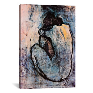 Blue Nude by Pablo Picasso: 18 x 26-Inch Canvas Print