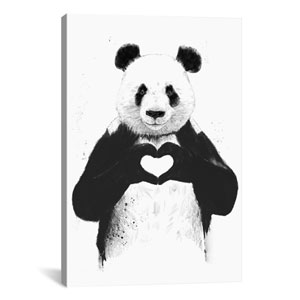 All You Need Is Love by Balazs Solti: 18 x 26-Inch Canvas Print