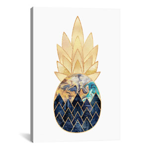 Precious Pineapple I by Elisabeth Fredriksson: 26 x 40-Inch Canvas Print