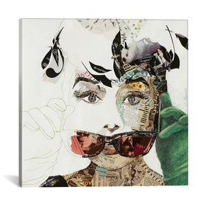 Audrey by Ines Kouidis: 18 x 18-Inch Canvas Print