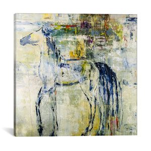 British Pony by Julian Spencer: 18 x 18-Inch Canvas Print