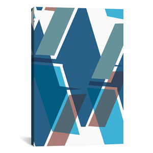 Blue Diamond by Leigh Bagley: 26 x 40-Inch Canvas Print