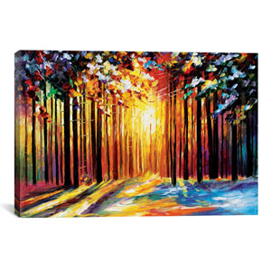 Sun Of January by Leonid Afremov: 40 x 26-Inch Canvas Print