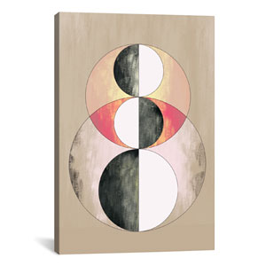 Geometric Prism, After Delaunay by 5by5collective: 26 x 40-Inch Canvas Print