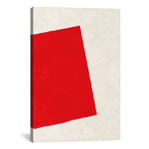 Red Square, After Albers by 5by5collective: 18 x 26-Inch Canvas Print
