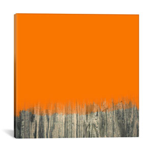 Over the Wood Fence by 5by5collective: 18 x 18-Inch Canvas Print