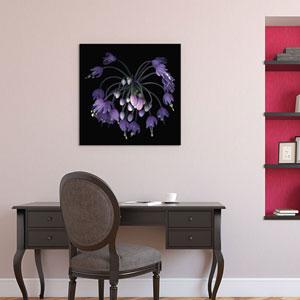 Allium Fireworks by Magda Indigo: 37 x 37-Inch Canvas Print