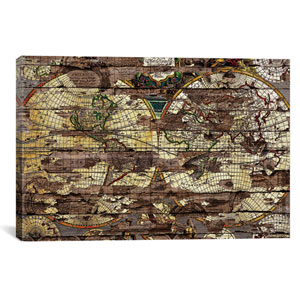 Secret Map by Diego Tirigall: 40 x 26-Inch Canvas Print
