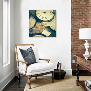 Time Flies by Olivia Joy StClaire: 18 x 18-Inch Canvas Print