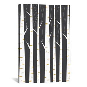 Birch Forest by Flatowl: 18 x 26-Inch Canvas Print