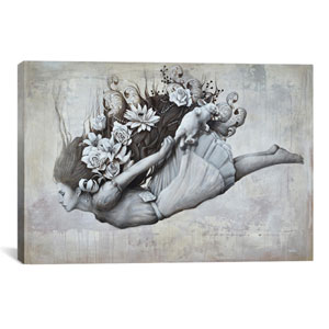 Le Jardin D Alice by Sophie Wilkins: 26 x 18-Inch Canvas Print