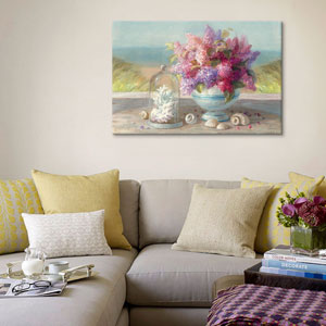 Seaside Spring Crop by Danhui Nai: 26 x 18-Inch Canvas Print