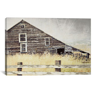 Wooden Barn by Lupen Grainne: 40 x 26-Inch Canvas Print