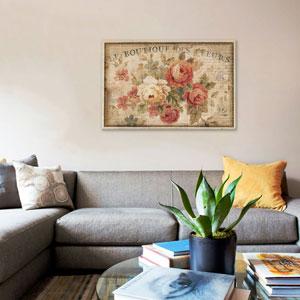 Parisian Flowers III by Danhui Nai: 40 x 26-Inch Canvas Print