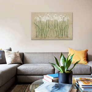 Narcissus Cool by Cheri Blum: 26 x 18-Inch Canvas Print