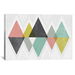 Mod Triangles II by Michael Mullan: 40 x 26-Inch Canvas Print