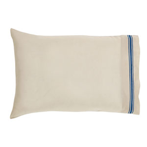 Charlotte Azure Set of Two Pillow Cases