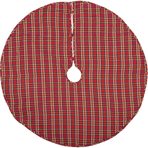 Galway Red and Blue 48 In. Tree Skirt