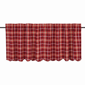 Braxton Apple Red 24 x 36-Inch Tier, Set of Two
