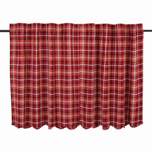 Braxton Apple Red 36 x 36-Inch Tier, Set of Two