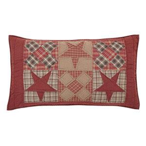 Dawson Star Khaki 21 x 37-Inch Luxury Sham