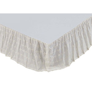 Willow Crème Twin Bed Skirt