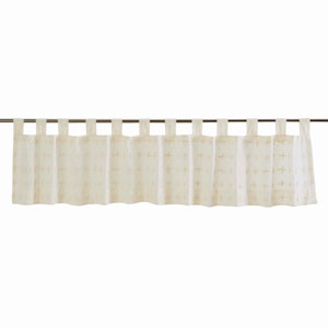 Willow Crème 16 x 90-Inch Valance