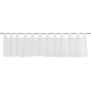 Willow Marshmallow 16 x 90-Inch Valance