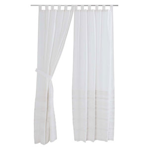 Jasmine Marshmallow 84 x 40-Inch Panel Set
