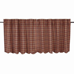 Parker Burgundy 24 x 36-Inch Tier, Set of Two
