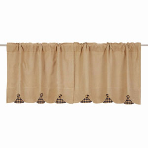 Burlap Natural 24 x 36-Inch Tier, Set of Two