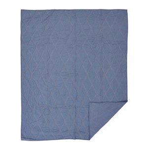 Harbour Smoky Blue Twin Quilt