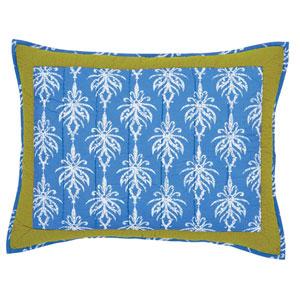 Laguna Cornflower Blue 21 x 27-Inch Sham Standard