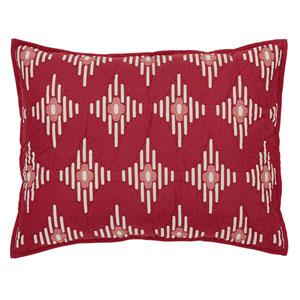 Paloma Crimson 21 x 27-Inch Sham Standard