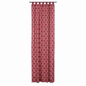Paloma Crimson 108 x 50-Inch Panel Set