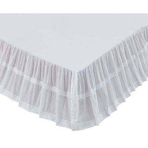 Quinn Marshmallow Twin Bed Skirt