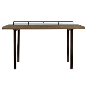 Harris Natural and Rustic Black Counter Table
