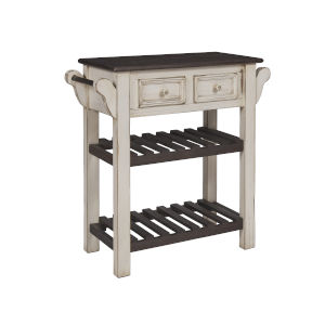 Madelyn Cream Dark Chocolate  Console Table