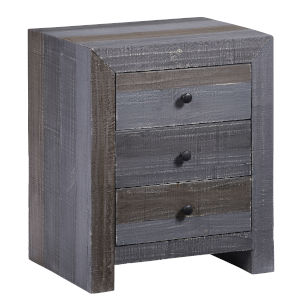 Utah Forest Gray Nightstand