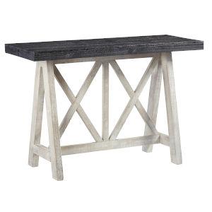 Evia Winter Bark Console Table