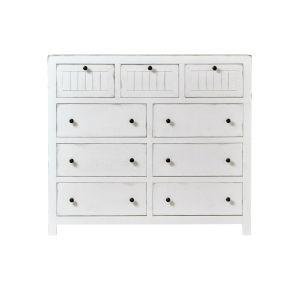 Elmhurst White Drawer Dresser