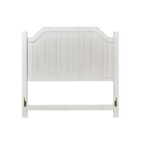 Elmhurst White King Post Headboard