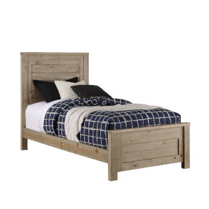Wheaton Natural Complete Twin Panel Bed