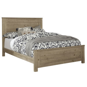 Wheaton Natural Complete Queen Panel Bed