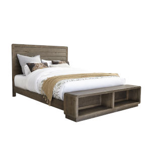 Bliss Mocha 64-Inch Queen Bed