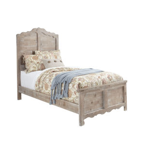 Chatsworth Chalk Complete Twin Panel Bed