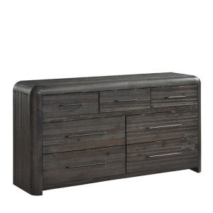 Oakley Distressed Java Brown Drawer Dresser
