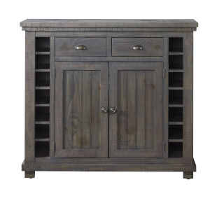 Willow Distressed Dark Gray Server