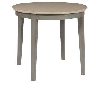 Toronto Weathered Gray Round Dining Table