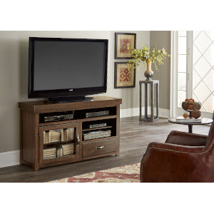 Navaro Sienna Pine 54-Inch Entertainment Console